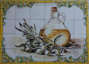 Azulejos Con Dibujos Dibujo Juguetera Antigua En Azulejo - Azulejos-con-dibujos